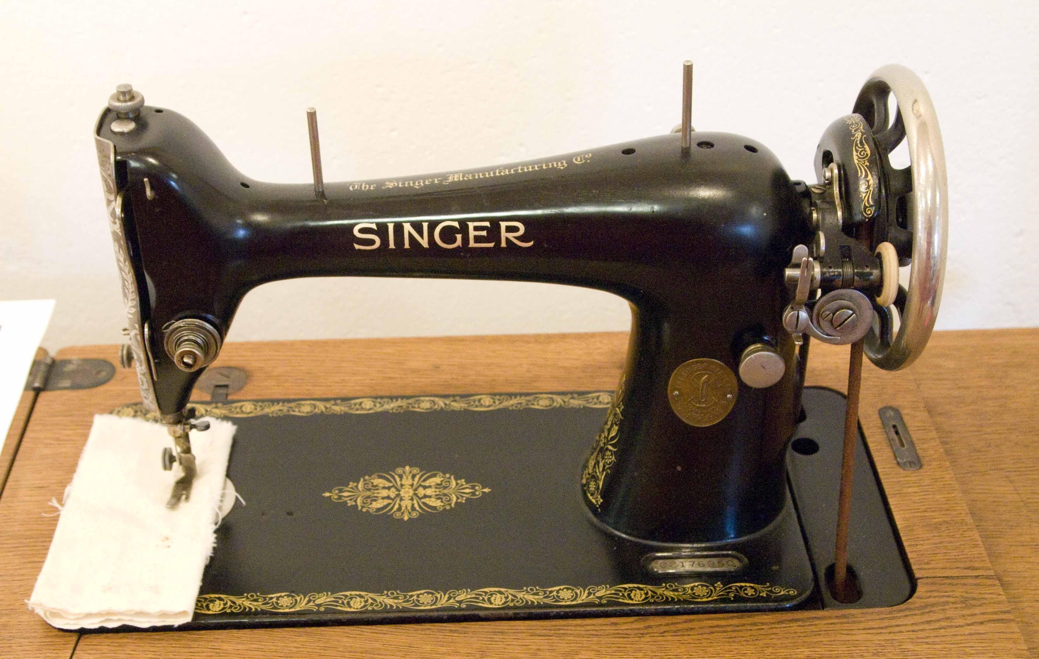 gamle singer symaskiner priser